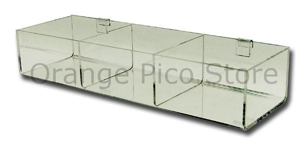 Acrylic Grid Panel Hosiery Bins
