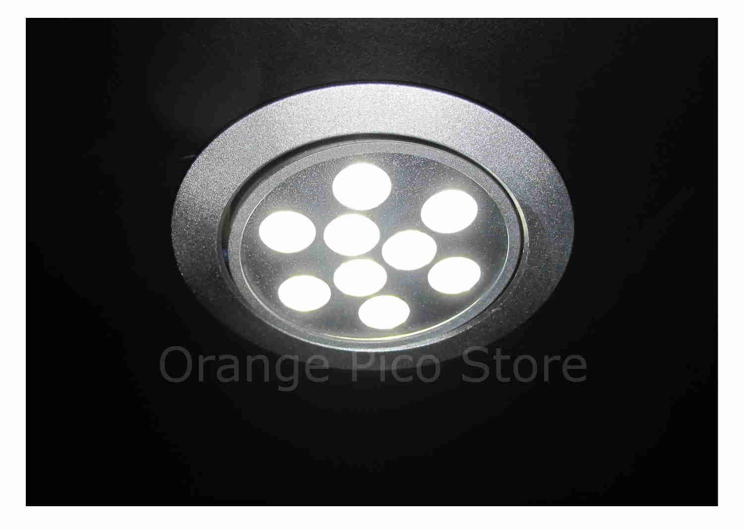 Orange pico store equipment co all display fixtures for retail led dome light fixture option for wallcasetower arubaitofo Choice Image