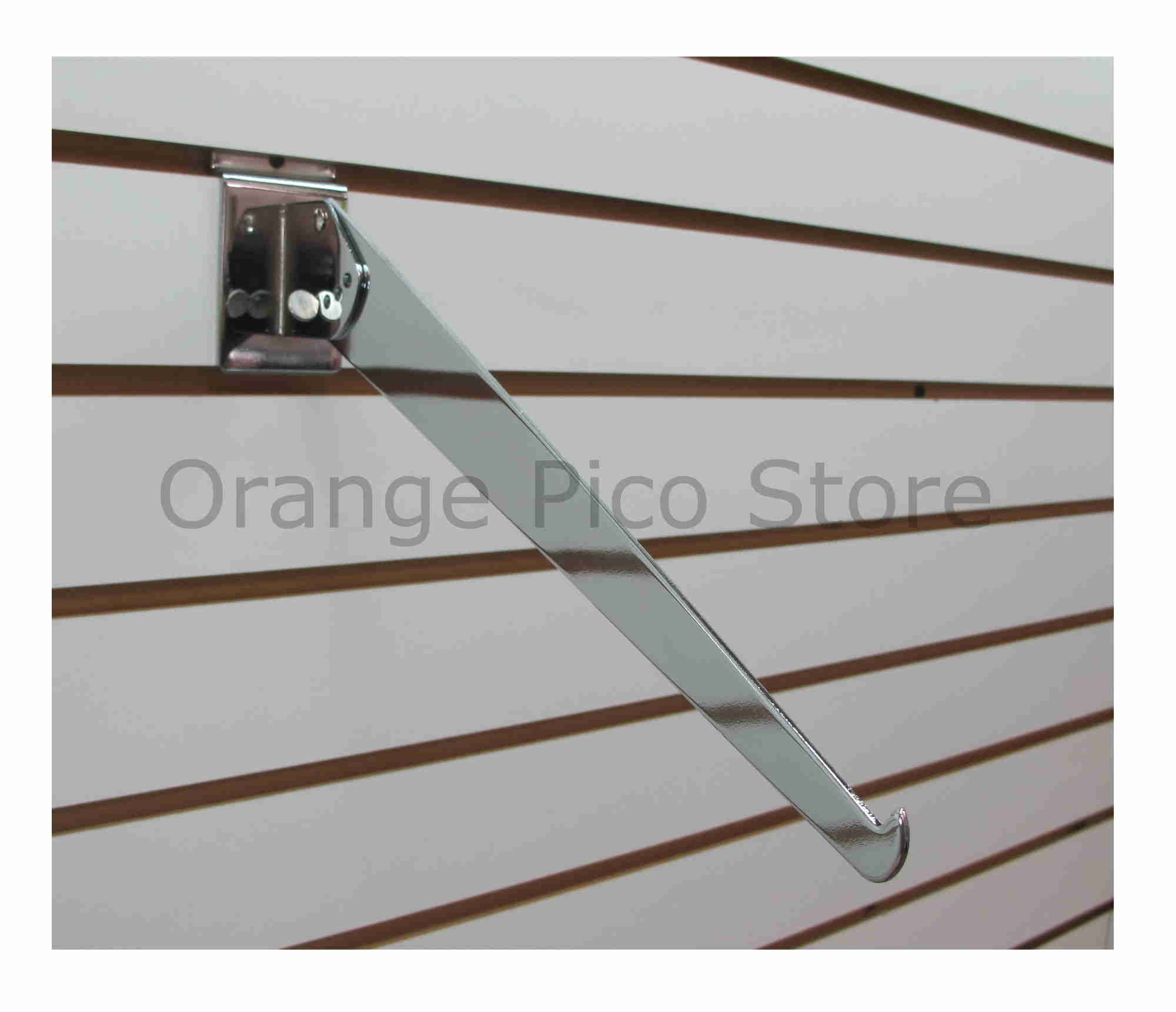 Slatwall, Orange Pico Store Equipment CO. - All Display Fixtures for ...