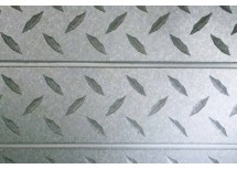Diamond Plate Textured Slatwall