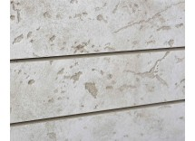 Bleached Cement Textured Slatwall