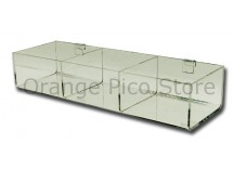 Acrylic Grid Panel Hosiery Bins