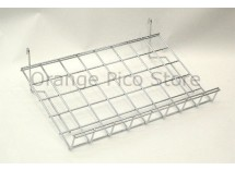 Grid Panel Slanted Shelf