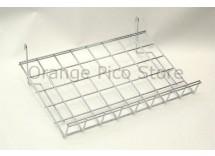 Grid Panel Slanted Shelf