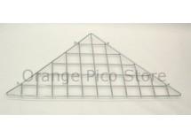 Grid Panel Triangle Shelf