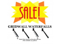 SALE: Gridwall Waterfall Brackets