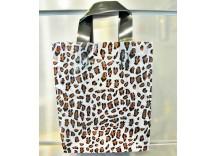 "Plastic Shopping Bag (8"" x 5"" x 10"")"
