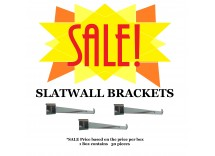 SALE: Box of Slatwall Brackets