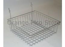 "Slatwall 12"" x 12"" Basket"