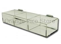 Acrylic Slatwall Hosiery Bins