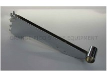 "12"" Round Bar Double Slot Bracket For Double Slot Standard"
